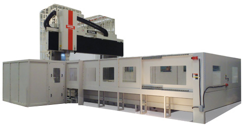 SNK RB6VM vertical CNC milling machine