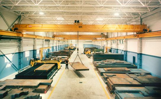 Steel Warehouse Bay