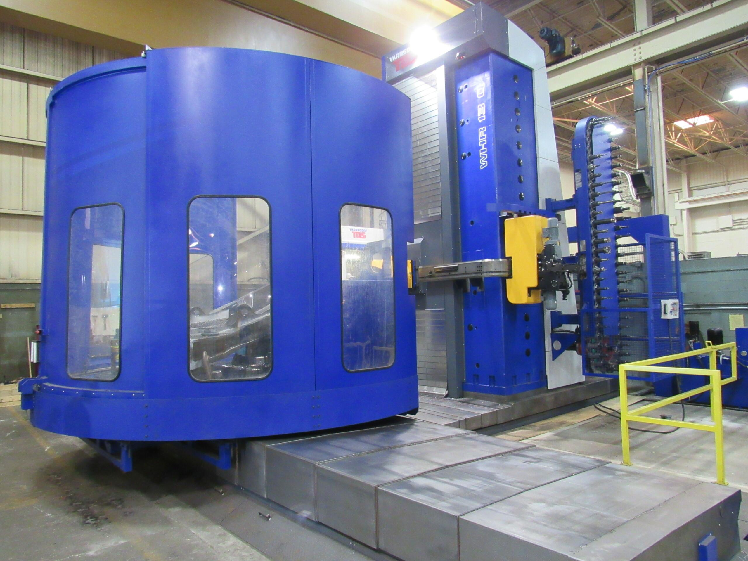 Large Blue CNC Machine